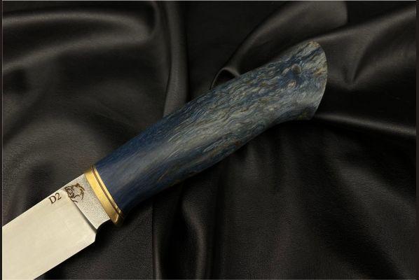 Нож Барс <span>(D2, стабилизированная карельская берёза)</span>